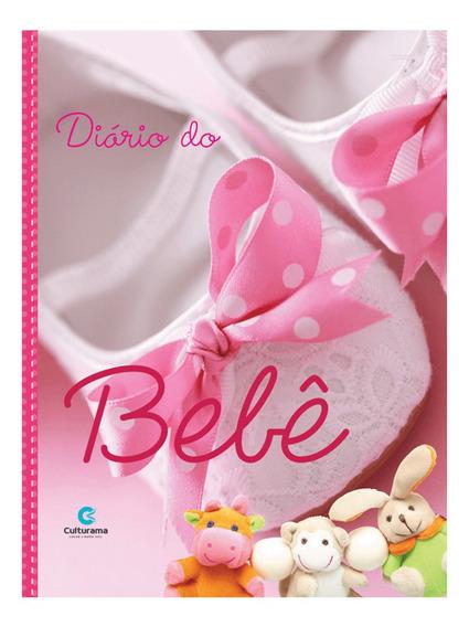 Diário Do Bebê Culturama Álbum Fotos Anotações Rosa Menina