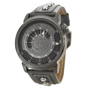 Relógio Masculino Yankee Street Black Angels Ys30210p Couro
