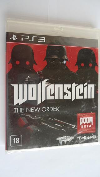 Wolfenstein: The New Order Ps3 Bethesda Lacrado Id Tech