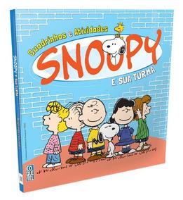 Livro Snoopy E Sua Turma Quadrinhos E Atividades Lacrado