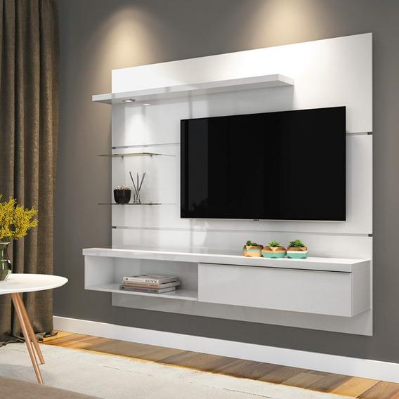 Painel De Tv Até 55 Bancada New Ores 1.8 Home Hb - 5 Cores