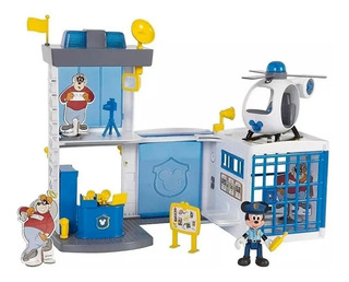 Mickey Mouse Estacion De Policia Comisaria Original Smile