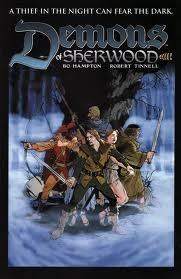 Livro Demons Of Sherwood