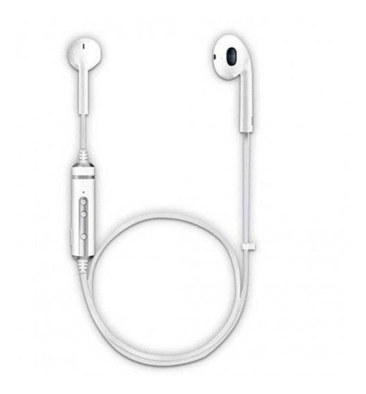 Fone Ouvido Bluetooth Branco Com Microfone Hardline - Bh-668