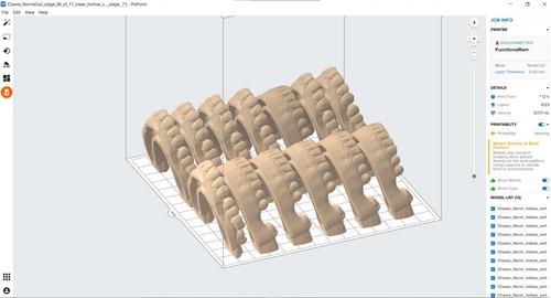 Serviço Impressão 3d Odonto Modelos Alinhadores Odontologia