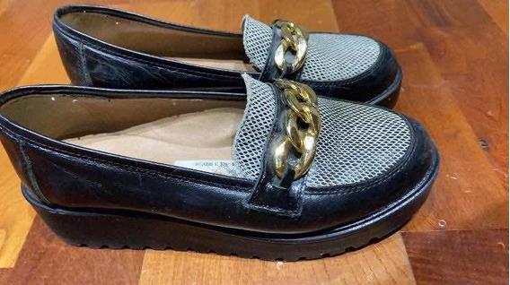 Zapatos De Cuero Talle 38