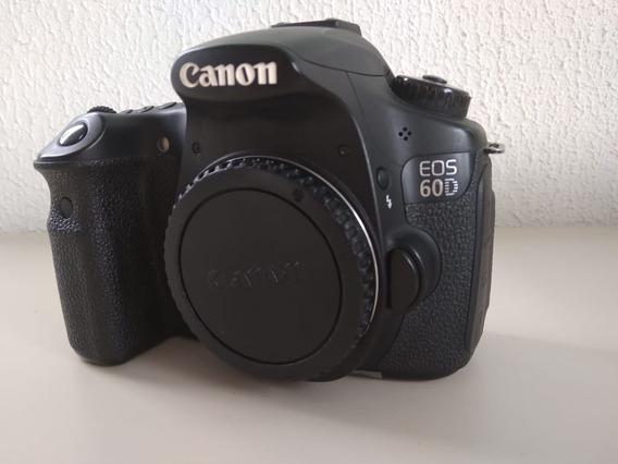 Camera Profissional Canon 60d + Lente 18-55mm Iii