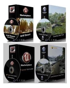Marcketplace Unreal Engine 4 (ue4) Mais De 600 Gigas Em Pack
