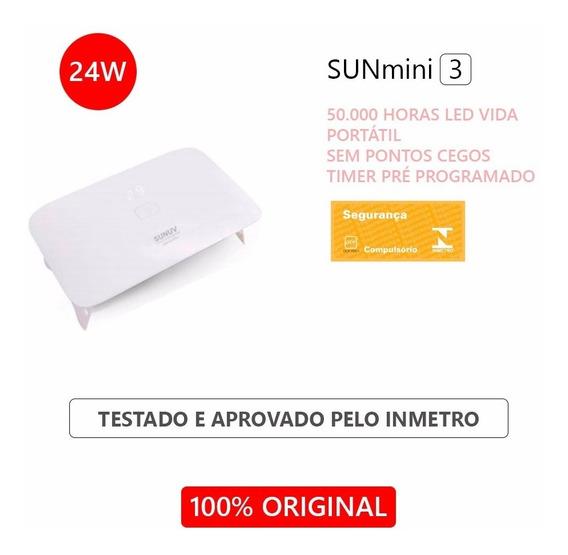 Cabine Uv Led Sun Mini 3 Plus Original