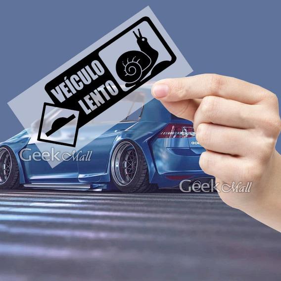 Adesivo Veiculo Lento - Socado Fixa Rebaixado Choraboy Stance Lombada Golf Jetta Civic Corsa Celta Focus