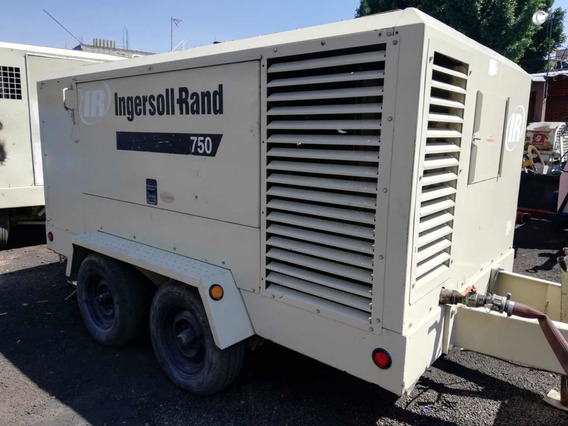 Compresor Ingersoll Rand 750 Cummins 2006 Xp750wcu