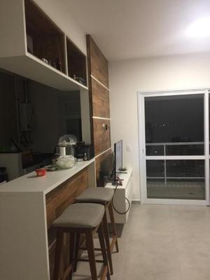 Apartamento Com 1 Dormitório À Venda, 57 M² Por R$ 600.000 - Gonzaga - Santos/sp - Ap0344