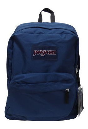 Mochila Jansport Superbreak Azul Petroleo