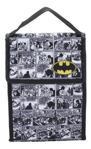 Lancheira Dc Comics Batman Logo