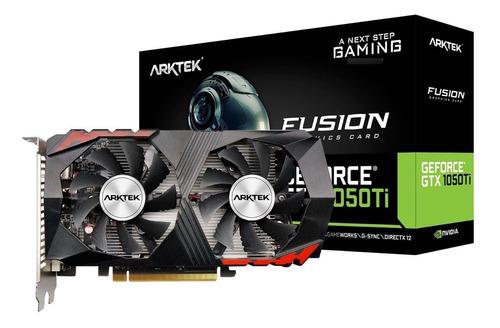 Imagen 1 de 3 de Placa De Video Arktek 1050 Ti Geforce Gtx Ddr5 4gb Megasoft