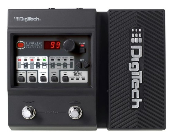 Pedaleira Digitech Element Xp Guitarra + Fonte Rp90 - Loja C