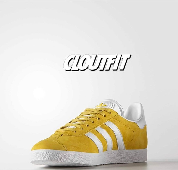 zapatillas adidas gazelle en amarillla