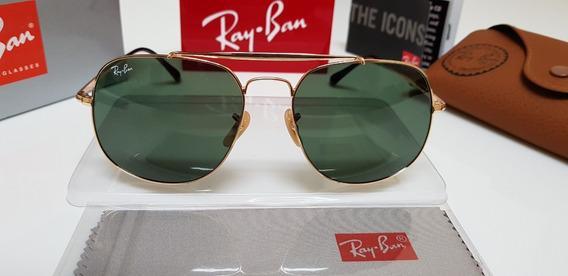 Óculos De Sol Ray-ban Marshal Rb3561 General G15 Verde Class