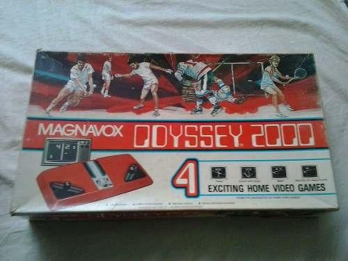 Console Odyssey 2000 Original Console Odyssey Games Antigos