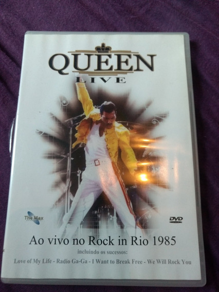 Queen Rock In Rio 1985 Dvd