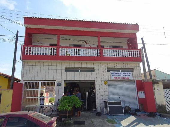 Empreendimento! Casa 3 Dorms + 2 Kitnet + 2 Salão Comercial + Quintal + Lote Para Construção Em Itanhaém!!! - So0016