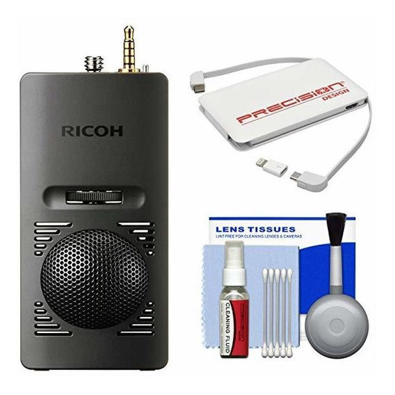 Ricoh Ta-1 3d 360 Degree Micrófono Theta V Camara Portable ®