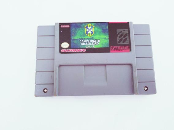 Fita Campeonato Brasileiro 2015 Original Super Nintendo