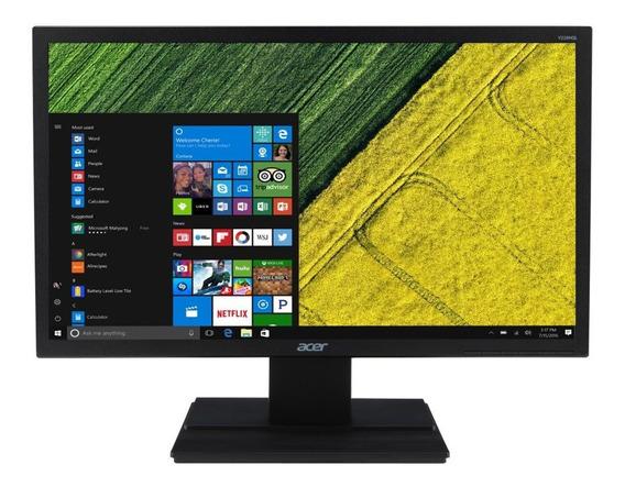 Monitor Acer 19.5 Polegadas V206hql Hdmi Preto