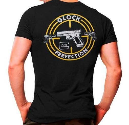 Camiseta Tática Masculina Atack Militar Glock 100% Algodão