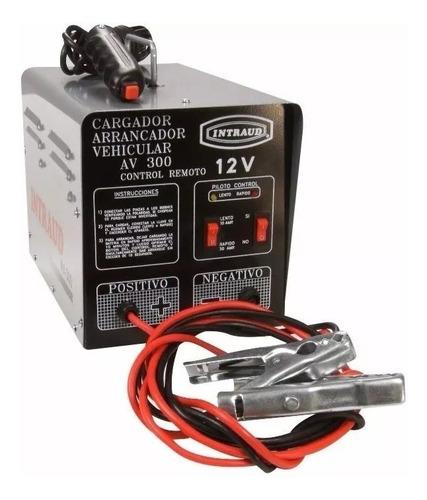 Cargador Arrancador Bateria Intraud Av300 6 Cuotas + Envio