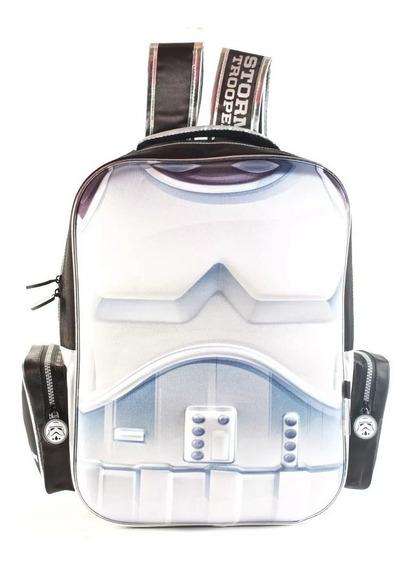 Mochila Star Wars De Espalda 3d 17 Pulg Wabro Lc