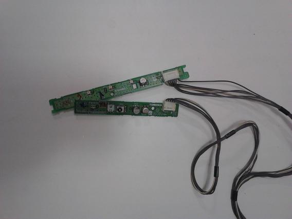 Sensor Do Controle Remoto Da Tv Semp Toshiba 32cv550da
