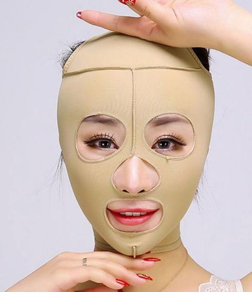 Faja Facial//Cara Salome Ref 0322 Chin-Neck Bandage//Mentonera Post-Quirurgica
