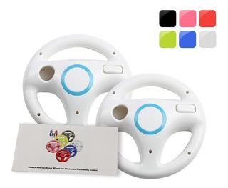 Gh Wii U Wii Volante Para Juegos De Carreras, Color Blanco