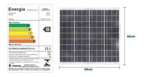 Módulo/painel /placa Solar 12v - 55w - Frete Correio Gratis