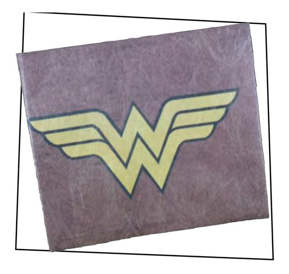 Billetera Tyvek - Wonder Woman Vintage - Original Dc Comics