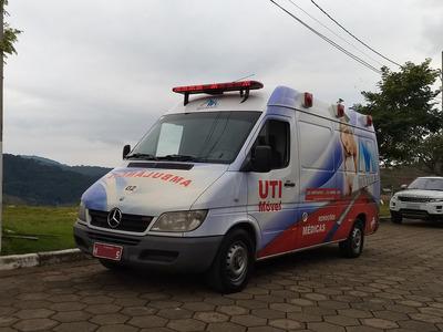 Ambulância Sprinter 313 Cdi Teto Alto Longo