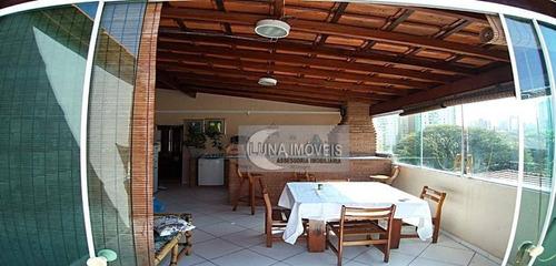 Cobertura Com 2 Dormitórios À Venda, 104 M² Por R$ 395.000,00 - Vila Floresta - Santo André/sp - Co0119