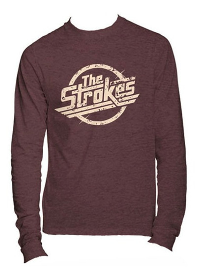 Playeras The Strokes Manga Larga - 9 Modelos Disponibles