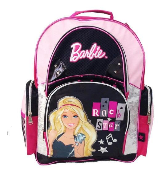 Mochila De Espalda Barbie Con Licencia Original 16 Rock