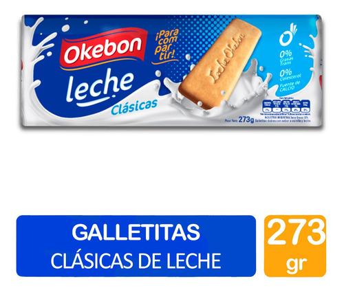 Galletitas Leche Okebon 273g Clasicas Dulces Merienda