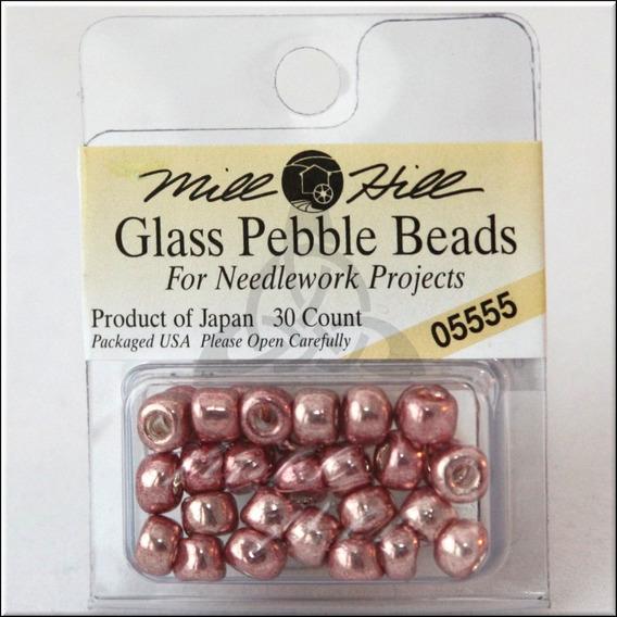 Perlas Para Coser De Vidrio New Penny 5.5mm X 30 Unidades Mi