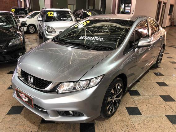 Honda Civic 2.0 Lxr 16v Flex 4p Automático 2015 2016