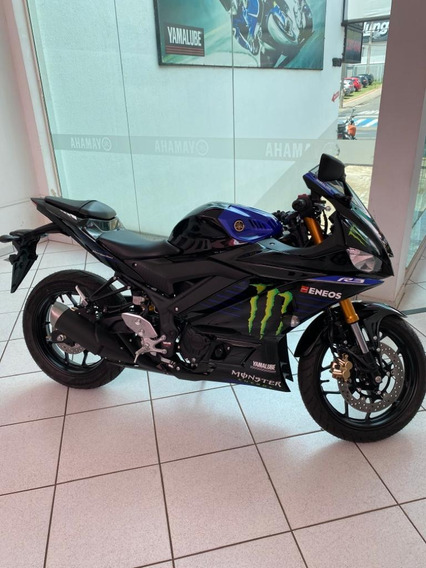 Yamaha Yzf R3 Monster Abs 2020 Zero A Pronta Entrega Posto 6
