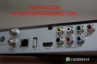 Reparacion Decodificadores Tda Tv Digital En San Martin