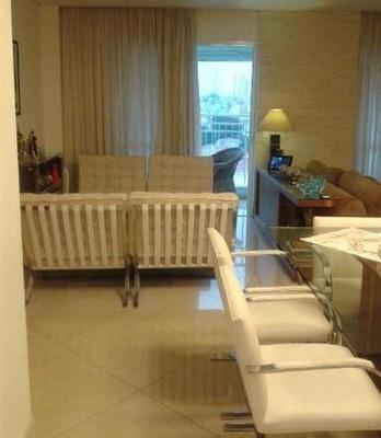 Apartamento Todo Mobiliado Com 3 Dormitórios À Venda, 110 M²- Vila Progresso - Guarulhos/sp - Ap2410