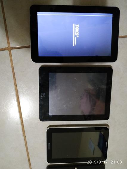 Lote De 6 Tablets Pra Consertar Ou Retirar Peças .