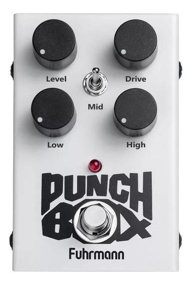Pedal Fuhrmann Punch Box 2 Overdrive Distortion Pb02
