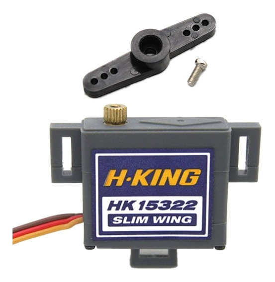 Servo Metal H-king Hk15322 Digital Slim Wing P/ Aeromodelo