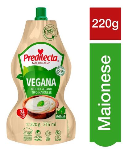 Maionese Vegana 220g Com Bico Dosador Predilecta